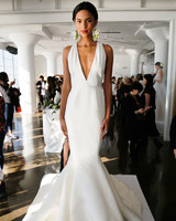 Sleek Marchesa Mermaid Gown