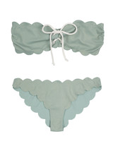 Scalloped Mint Bikini