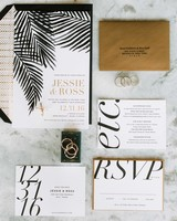 30 Modern Wedding Invitations We Love Martha Stewart Weddings