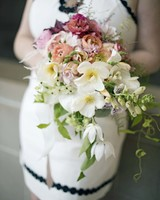 modern wedding ombre bouquet