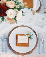 wedding reception napkin folds rust red napkin folded in tight rectangle