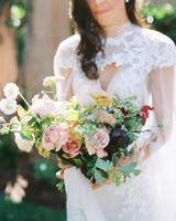 paige zack wedding bride bouquet