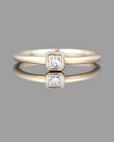 princess cut ring gold kataoka