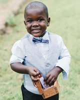 ring bearer vest smile