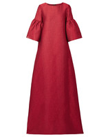 Reem Acra Metallic Gown