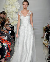 theia fall 2019 a line v neck illusion cap sleeves beaded