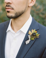 Winter Boutonniere