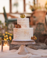 anika max wedding two tier cake display