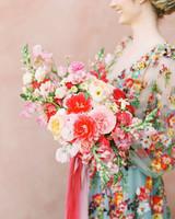 cavin david wedding bride bouquet