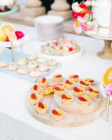 cavin david wedding dessert table