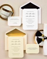 understated wedding invitation