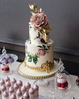 daniela andrei wedding cake