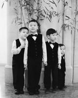 diana alex wedding boys