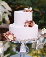 Autumn Buttercream Wedding Cake » Fall Wedding Cakes #2133258 - Weddbook