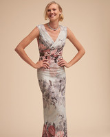 "BLDHN ""Lilliana"" Floral Mother of the Bride Dress"