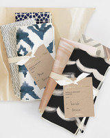 Hostess gift idea Minted napkin sets