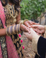 california indian jewish wedding bridal henna