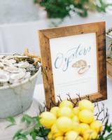 lauren josh wedding oysters