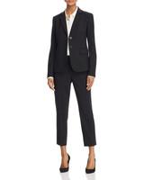 Classic Blazer Cropped Pants Suit
