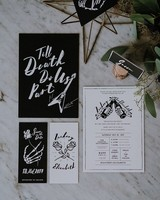 Rock and Roll Wedding Invites