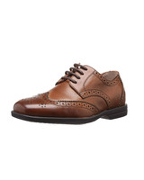 ring bearer shoes brown leather wingtip dress shoes