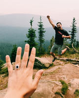instagram ring selfie by mariebrousson