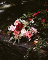 rivka aaron wedding bridal bouquet