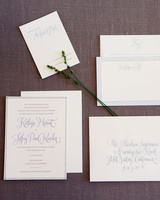 graphic wedding invitation