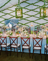 shelby barrett wedding tent centerpieces