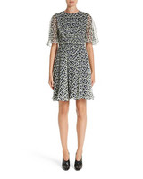 Jason Wu print silk chiffon day dress