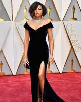 Taraji P. Henson 2017 OscarsRed Carpet