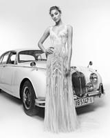 zuhair murad wedding dress spring 2019 v-neck sheath