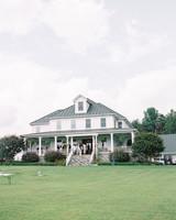 estate wedding near blue ridge mountains