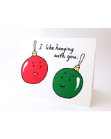 holiday card etsy ornaments