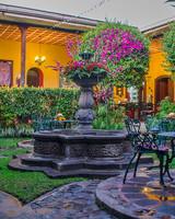 Hotel Casa Antigua Courtyard