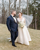 kelly drew new jersey wedding couple walking outdoors