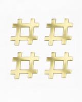 kim seybert hashtag coasters