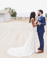 california indian jewish wedding couple portrait