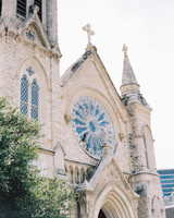 saint mary cathedral church front view