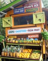 huelo lookout roadside food kiosk