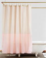 pink registry shower curtain