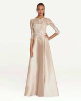 Teri Jon Sequin Overlay Gown
