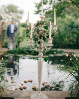 Large Silver Wedding Candelabra