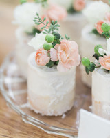 52 small wedding cakes with a big presence martha stewart weddings mini individual wedding cake junglespirit Images