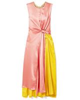 net-a-porter roksanda color block dress