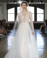watters long sleeve wedding dress fall 2019