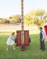 wedding games strongman bell ring