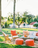 outdoor seating reception area