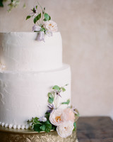 adrienne cameron wedding cake white with flowers