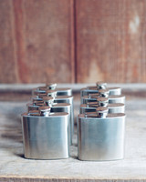 Engraved Flask Favors